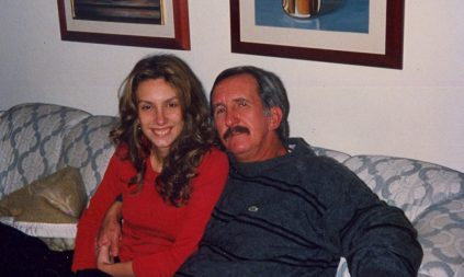 Fefe Rosada e seu pai que ela ama tanto!