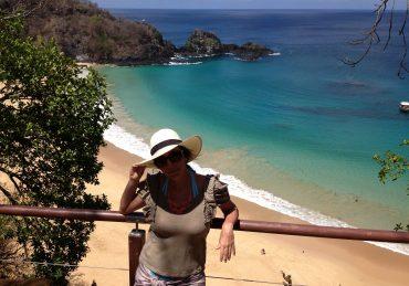 Fefê Rosada do Blog Up na Vidinha em Fernanda de Noronha - 20 lugares incríveis no Brasil